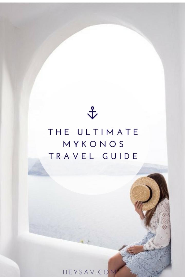 The Ultimate Mykonos TravelGuide
